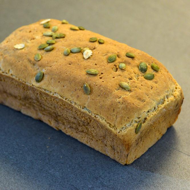 Pumpkin Flax Bread